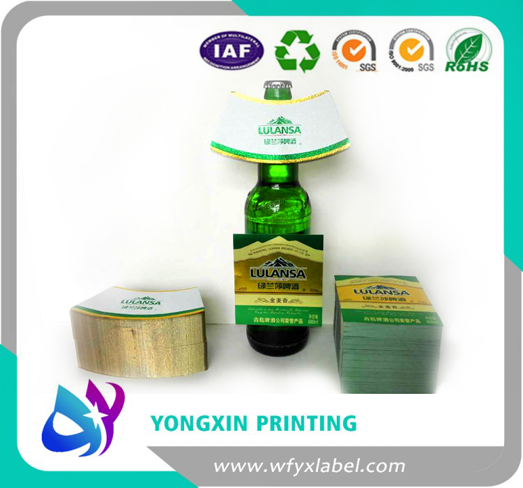 High quality beer neck label supplier